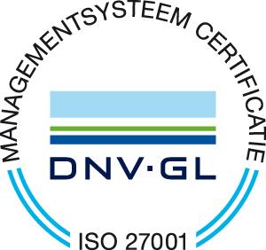 ISO27001 gecertificeerd